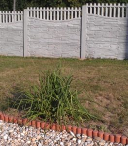 Nový vzor betonového plotu v Olbramicích 03