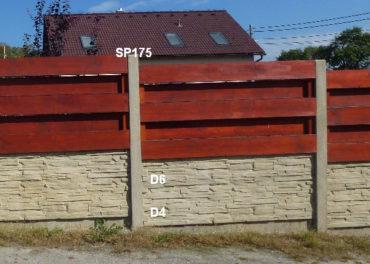 Plotová podezdívka D4,D6,SP175