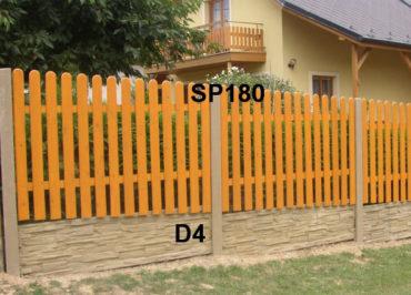 Plotová podezdívka D4,SP180
